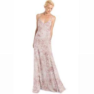 Joanna August wildflower blush Claudette dress